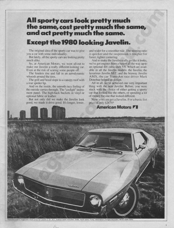 1971 American Motors Advertisement #4