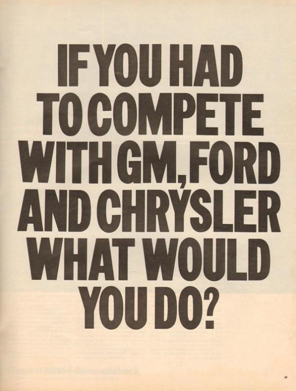 1971 American Motors Advertisement #5