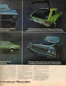 1971 American Motors Advertisement #7