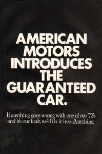 1972 American Motors Advertisement #4