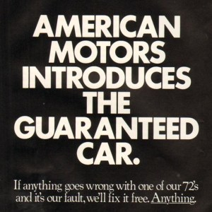1972 American Motors Advertisement #4