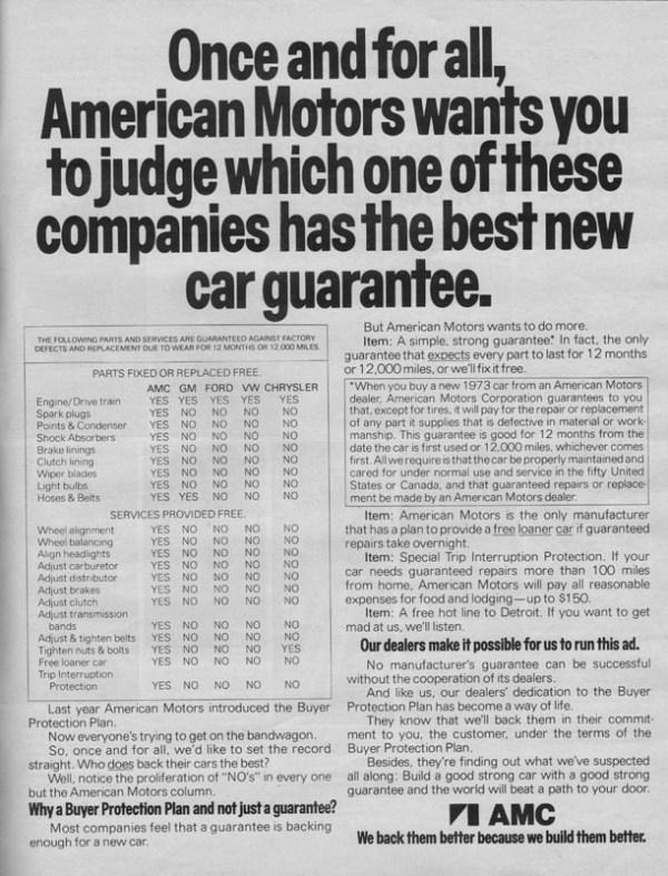 1973 American Motors Advertisement