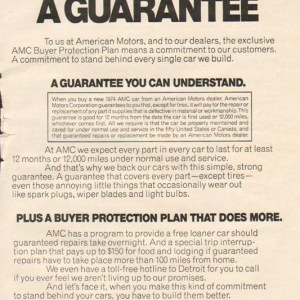 1974 American Motors Advertisement #1