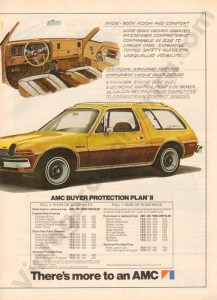 1976 American Motors Advertisement #1