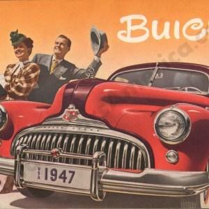 1947 Buick Brochure