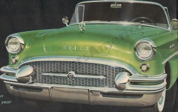 1955 Buick Brochure