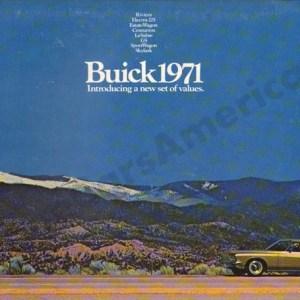 1971 Buick Brochure