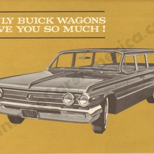 1962 Buick Wagons Brochure