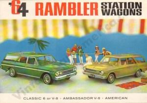 1964 Rambler Wagons Brochure