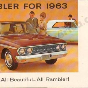 1963 Rambler Foldout