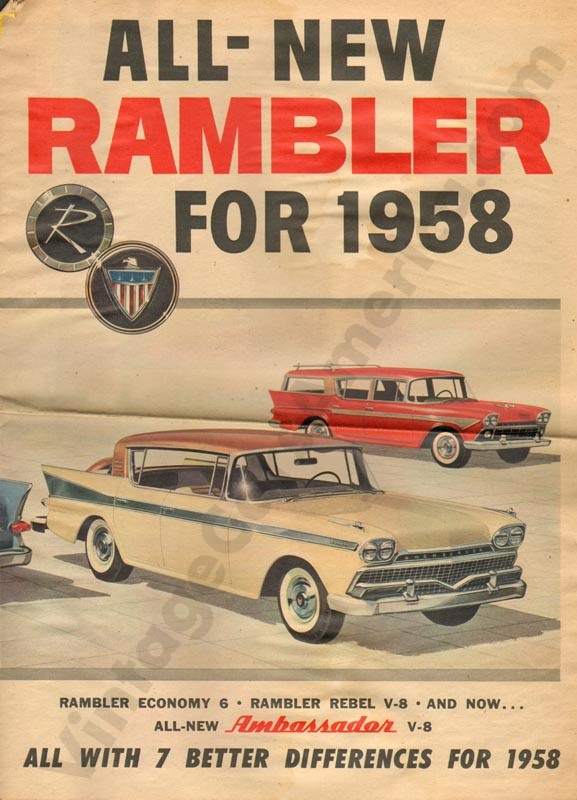 1958 All New Rambler Brochure