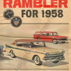 1958 All New Rambler Brochure