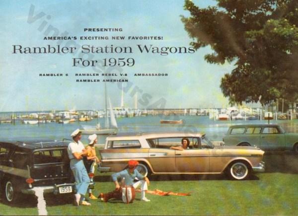 1959 Rambler Wagons Brochure