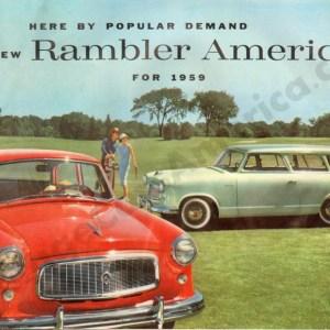 1959 Rambler American Brochure