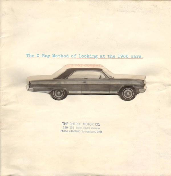 1966 X-Ray Brochure