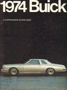 1974 Buick Brochure