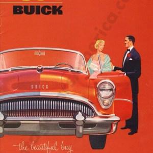 1954 Buick Brochure