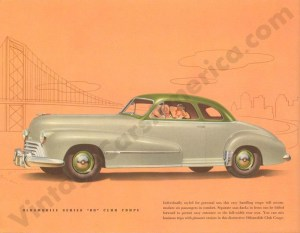 1948 Oldsmobile Rocket 88