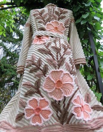 buy vintage chenille robes handmade