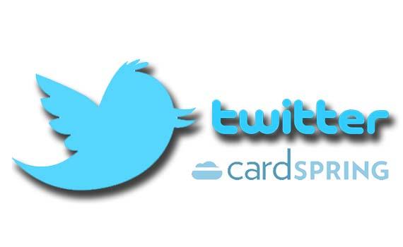 twitter y cardspring