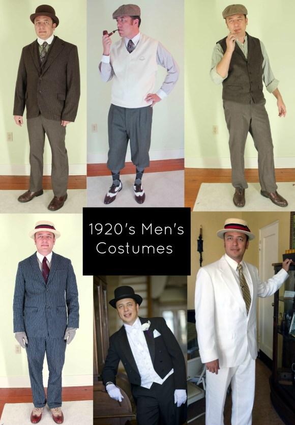 10 Easy 1920s Men's Costumes Ideas