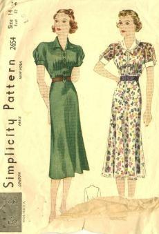 Vintage 1930s Dress Pictures