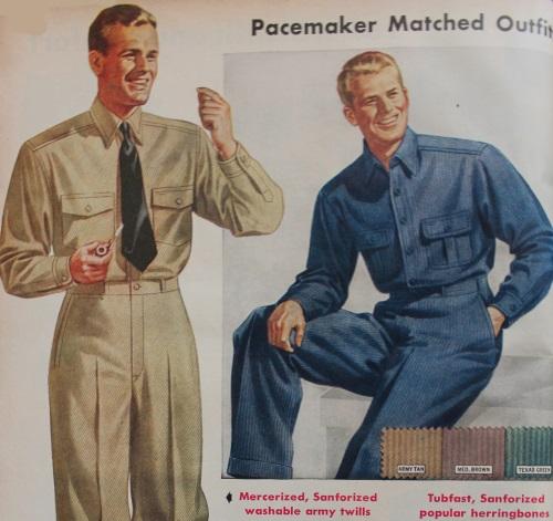 1940s Mens Work Clothes Amp Uniforms