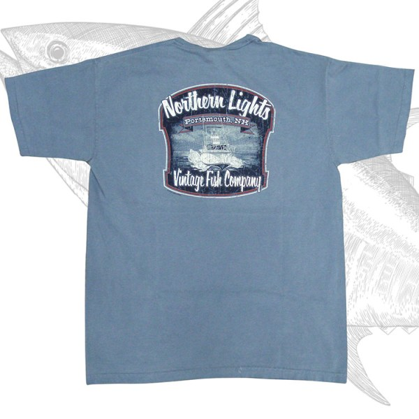 BOAT SHIRT, NORTHERN LIGHTS
