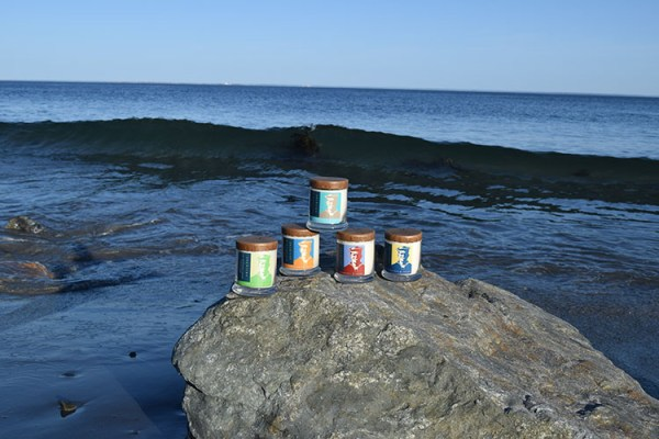 Weathered Sailor Candles