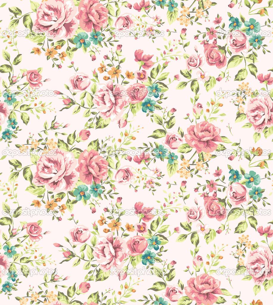 Vintage Flower Wallpaper Images Vintage Flowers Girl