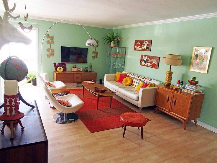 Beautiful 50s Style Living Room Www Resnooze Com