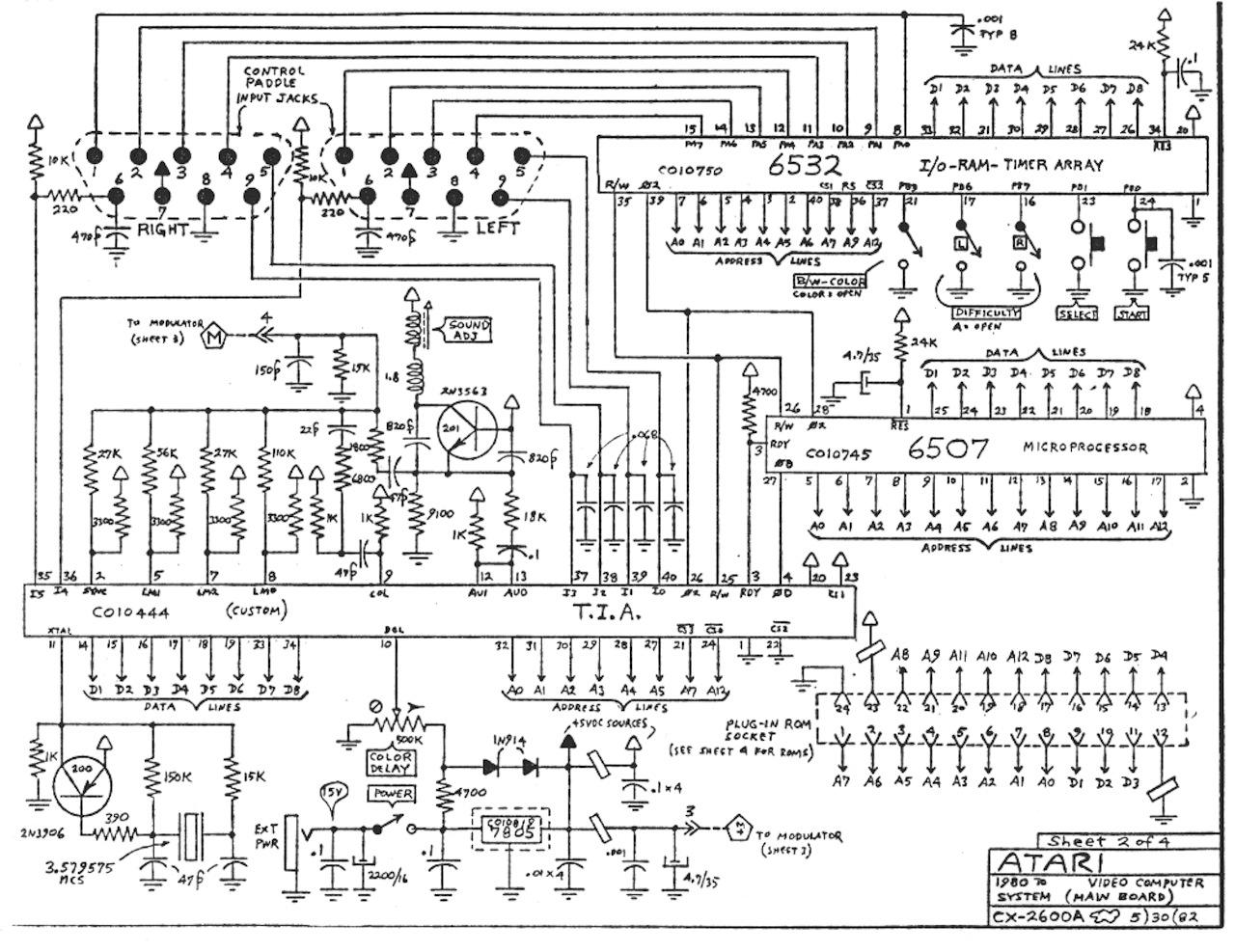 Atari Schematics