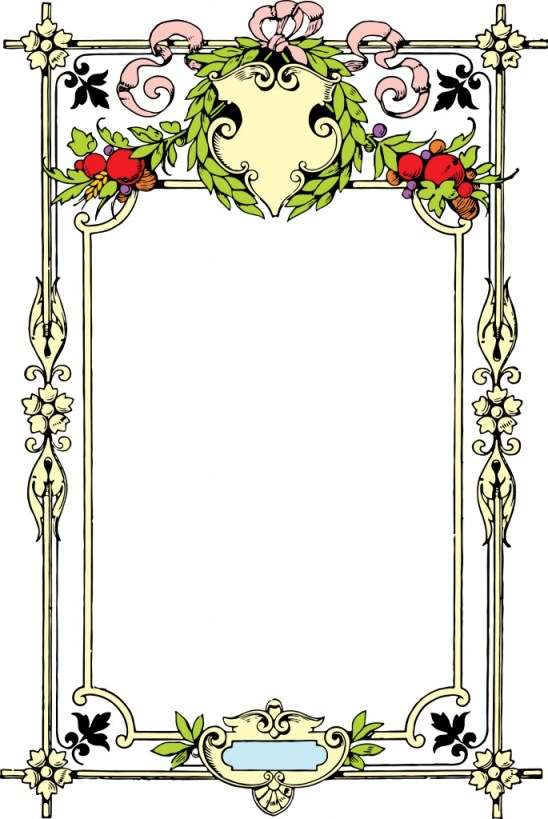 vgosn_vintage_decorative_frame_clipart_image_colored