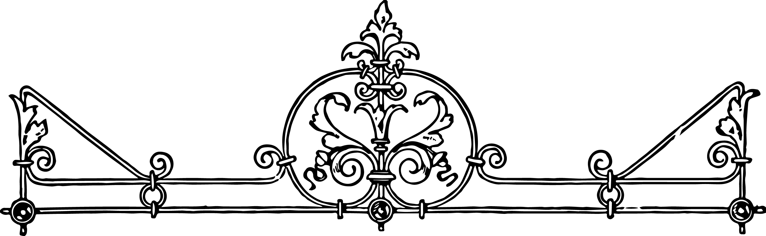 free stock vector vintage iron scrollwork oh so nifty vintage rh vintagegraphics ohsonifty com corner scrollwork clipart decorative scrollwork clipart