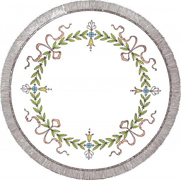 vgosn_vintage_stock_vector_clip_art_circle_wreath_colored