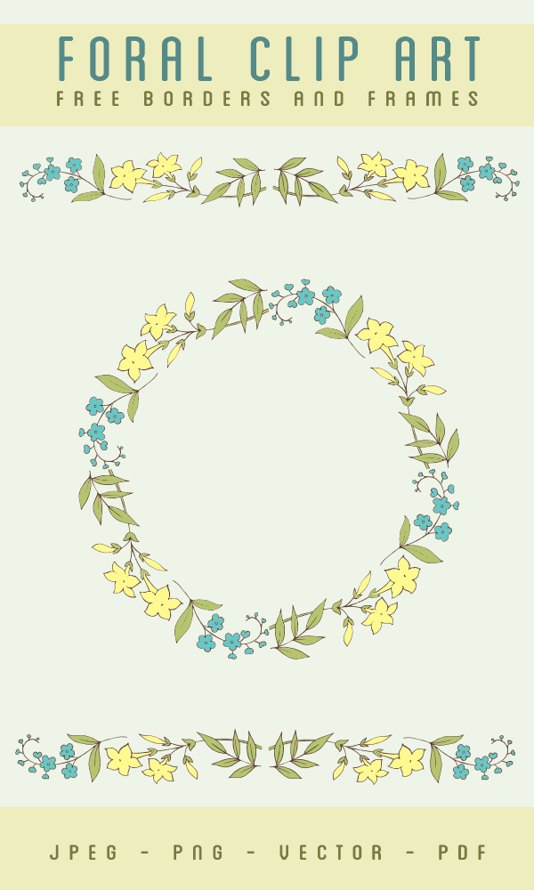 stock images, flower images, flower borders, borders and frames, circle borders, vector art stock, flower vector art,