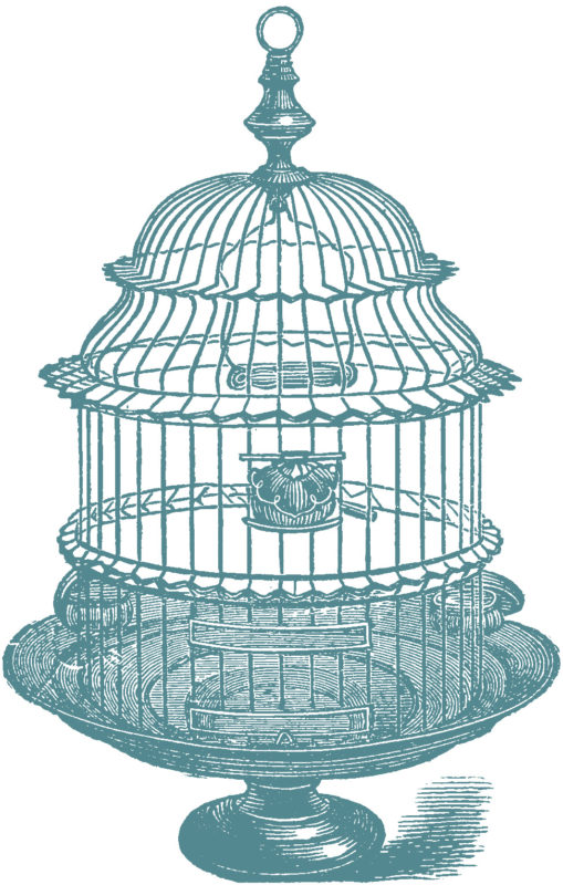 vgosn_stock_images_vintage_bird_cage_clip_art_blue