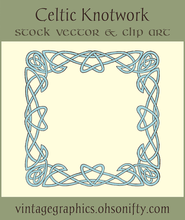 Royalty Free Images - Celtic Knotwork
