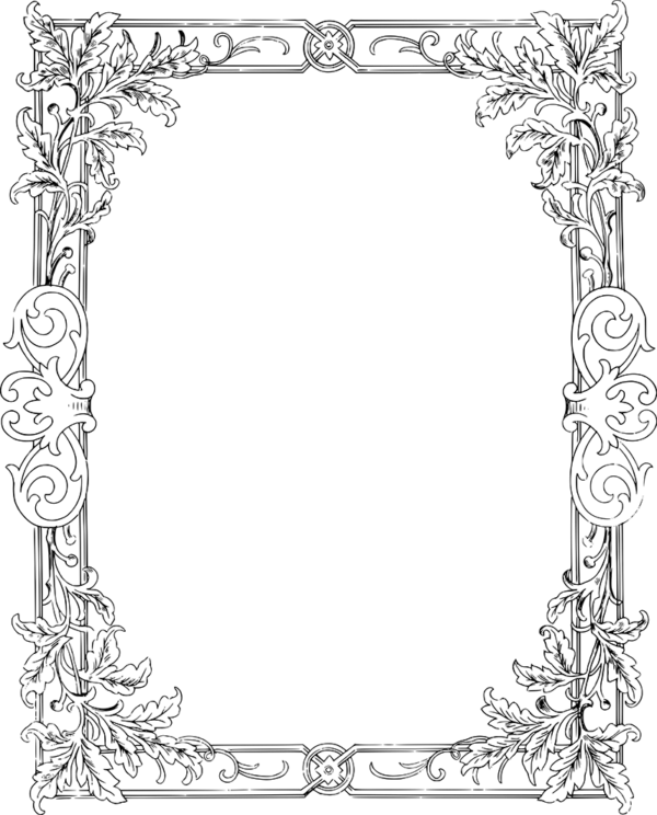 free clip art border vector flourish oh so nifty