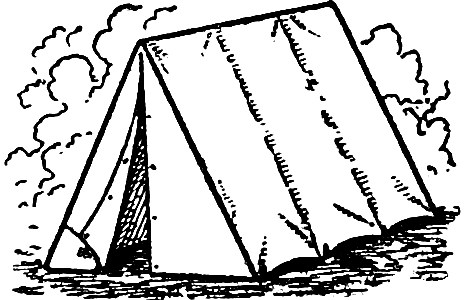 Free Clip Art Camping Tent Oh So Nifty Vintage Graphics