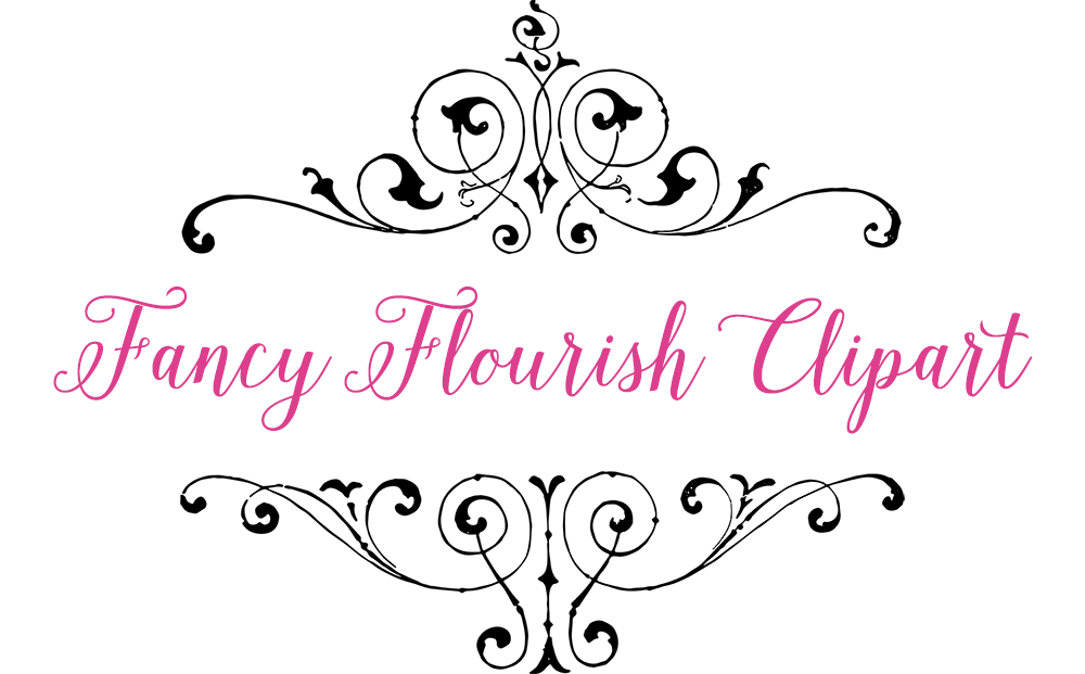 Royalty Free Clipart - Vintage Fancy Flourish