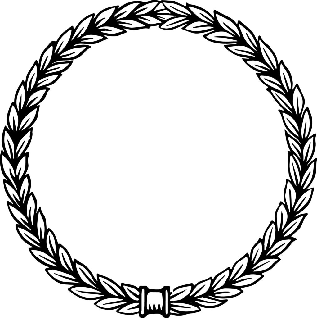 Free Vector Art | Vintage Laurel Wreath