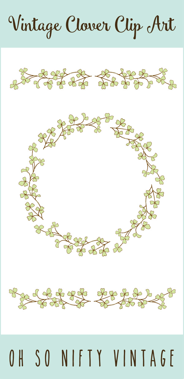 Decorative Stock Images | Vintage Floral Wreath & Divider