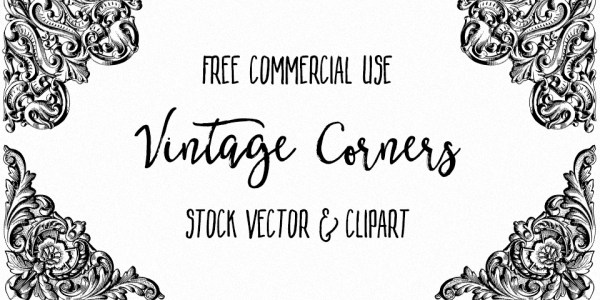 Ornate Vintage Corners Vector