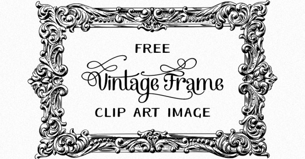 Vintage Flourish Frame Stock Vector