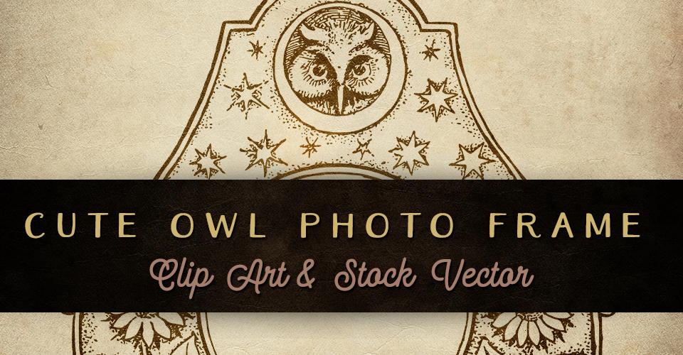 Cute Owl Frame Image