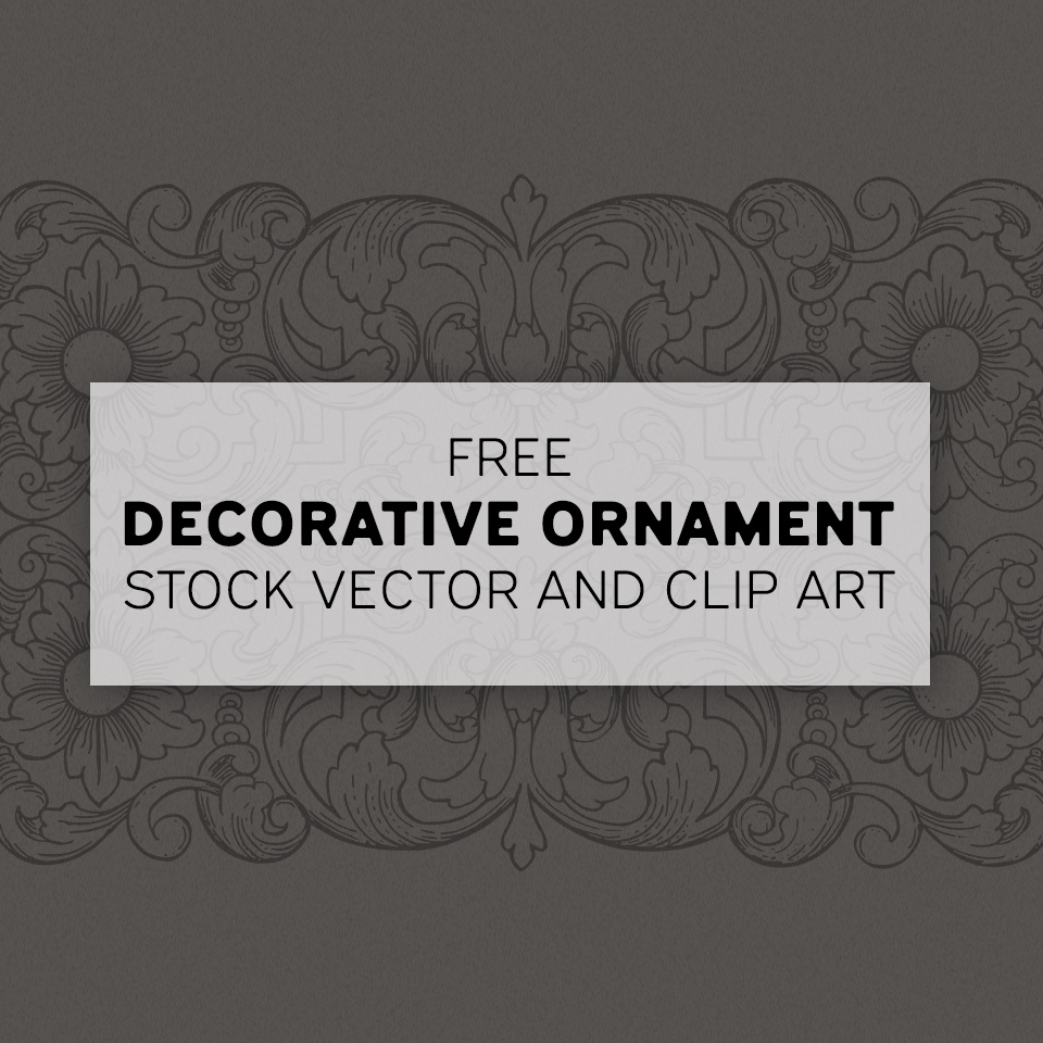 Lovely Decorative Ornament Vector Image