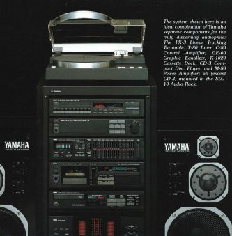 YAMAHA separate components--