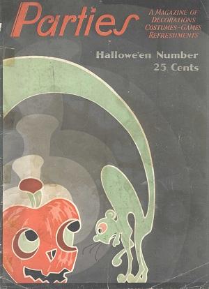Vintage Dennison Halloween Parties Magazines 1930