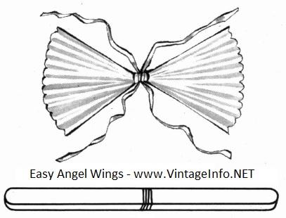 Easy Angel Wings to Make http://vintageinfo.net/easy-angel-wings-to-make